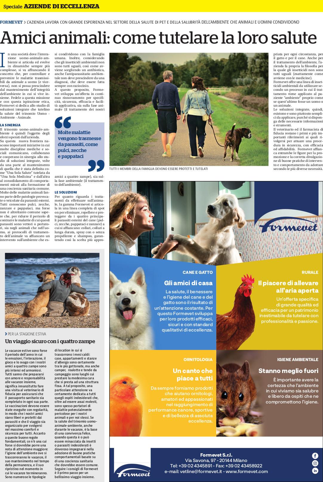 Amici Animali Come Tutelare La Loro Salute Che E Anche La Nostra Formevet